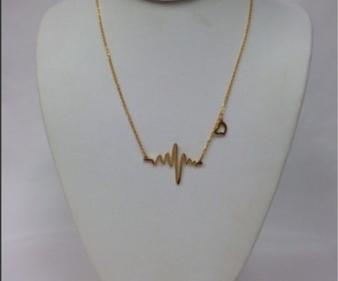 My Heart Beat Necklace