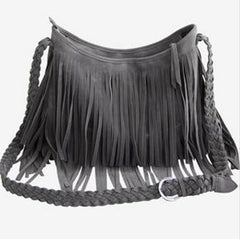 Tassels Shoulder Bag