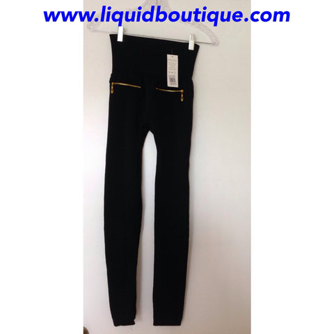 BLACK,HIGH WAISTED,GOOD QUALITY THICK LEGGINGS