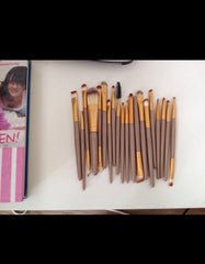 20 pcs Make Up Brush Set.