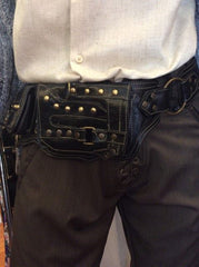 Black and Brass Utility Belt