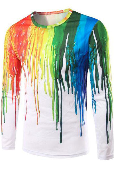 Rainbow Melt Long Sleeve