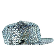 Reptile Glitter Snap Back Throwdown Hat