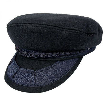 Navy Cadet Wool Hat
