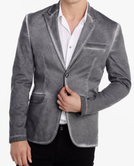 PeekaBoo Washed Faded Blazer