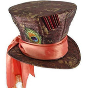 Mad Hatter Peacock Top Hat