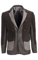 Corded Tweed Blazer