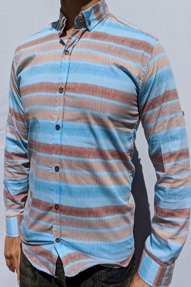 Beach Dunes Button Up