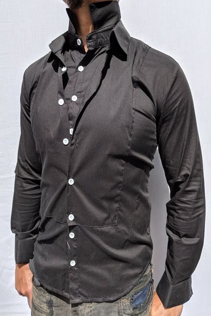 Double Collared Men's Shirt