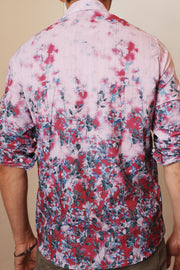 Vapor Bloom Button Up