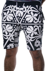 Floral Spade Casual Shorts