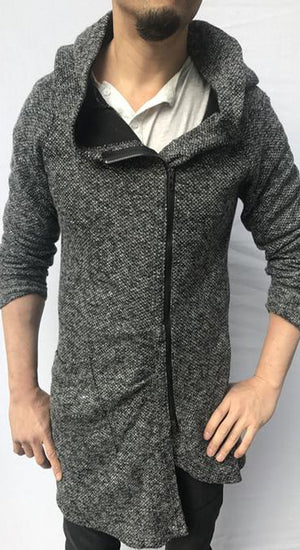 Cornell knit Zip up Hoodie