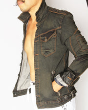 Mad Max Distressed Denim Jacket