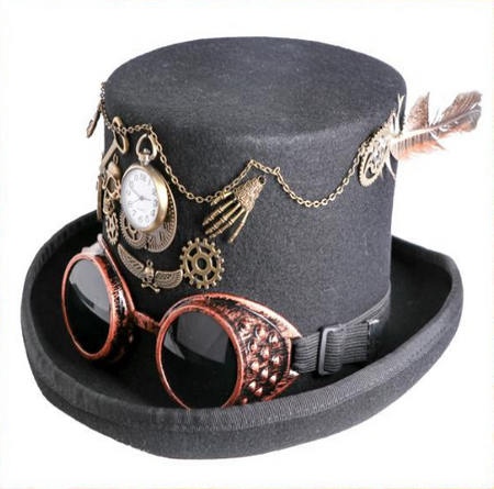 Decorative Steampunk Top Hat