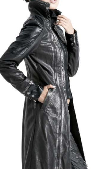 Black Angel Trench Coat