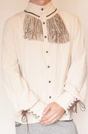 Distressed Steampunk Button Up