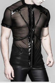 Gothic Dense Mesh Long Sleeve