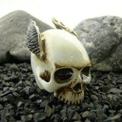 Take Flight Skull Ring
