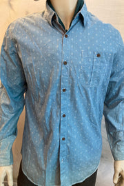 Rinehardt Blues Dress Shirt