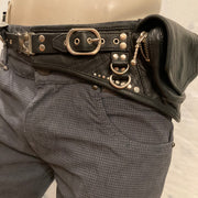 Leather Travel Belt