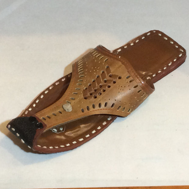 Brown Thong Rajasthani Sandal