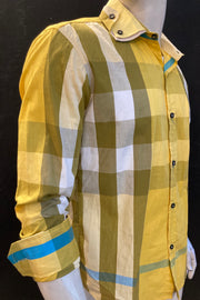 Stuart Gingham Dress Shirt