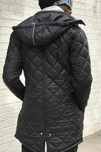 Down Slope Quilted Coat