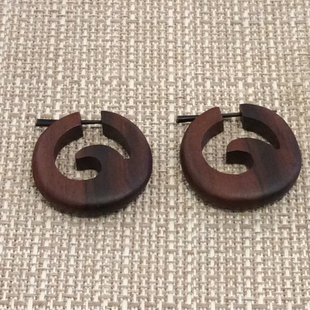 Wooden wave faux gauges