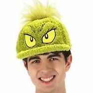 Grinch Fuzzy Hat