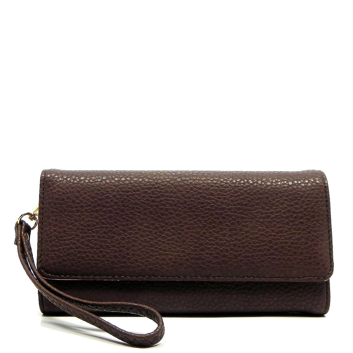 Marley Wristlet in Chocolate