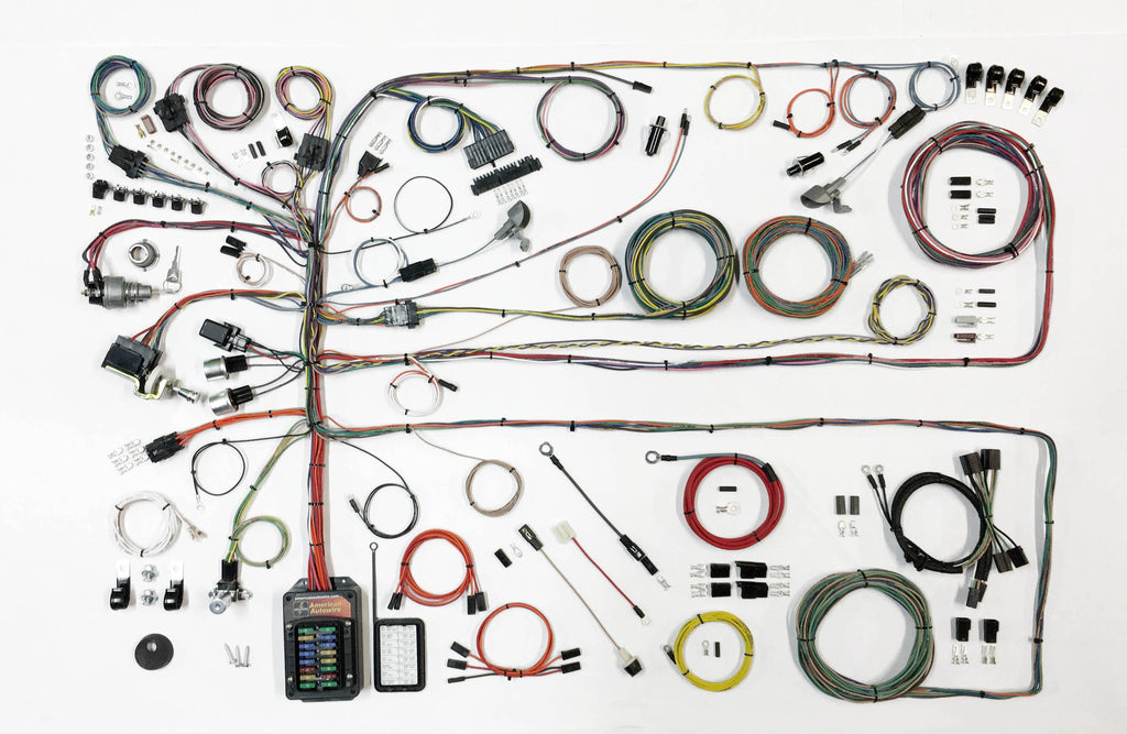 1957 1960 ford truck wiring harness the bronco hut rh broncohut com Used Ford Wiring Harness 1957 ford f100 wiring harness