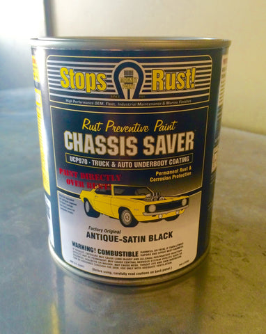 Chassis Saver Rust Preventative Paint