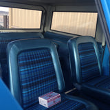 Blue Explorer Seat Covers Front
