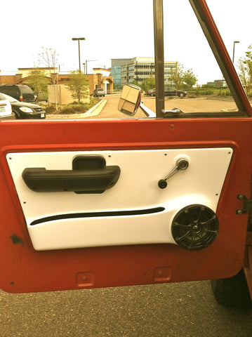 Fiberglass Door Speaker Panels ON BACKORDER