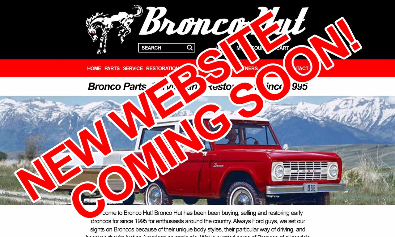 The Bronco Hut Parts Services Restoration Of Early Ford Broncos 1970 Steering Column Diagram Previous Next
