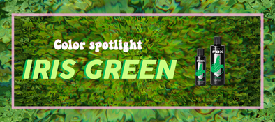 Arctic Fox Hair Color Spotlight | Iris Green
