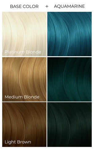 Blonde turquoise hair and Best Turquoise