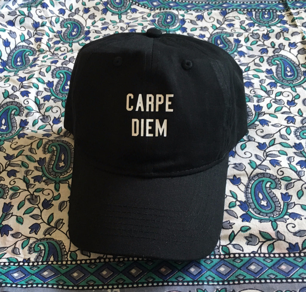 Carpe Diem Dad Hat