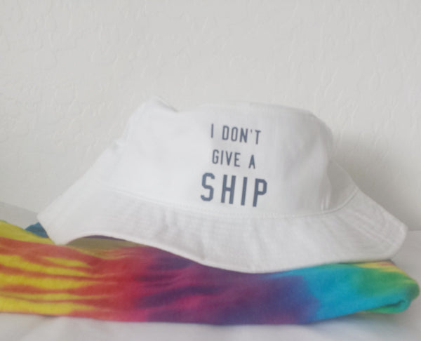 I Don't Give A Ship Bucket Hat