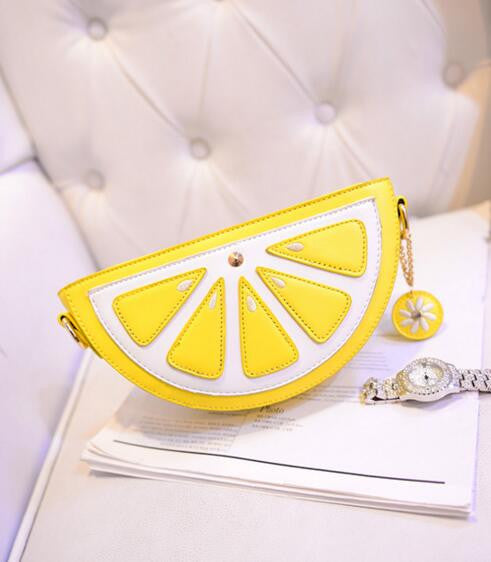Juicy Lemon Crossbody Bag