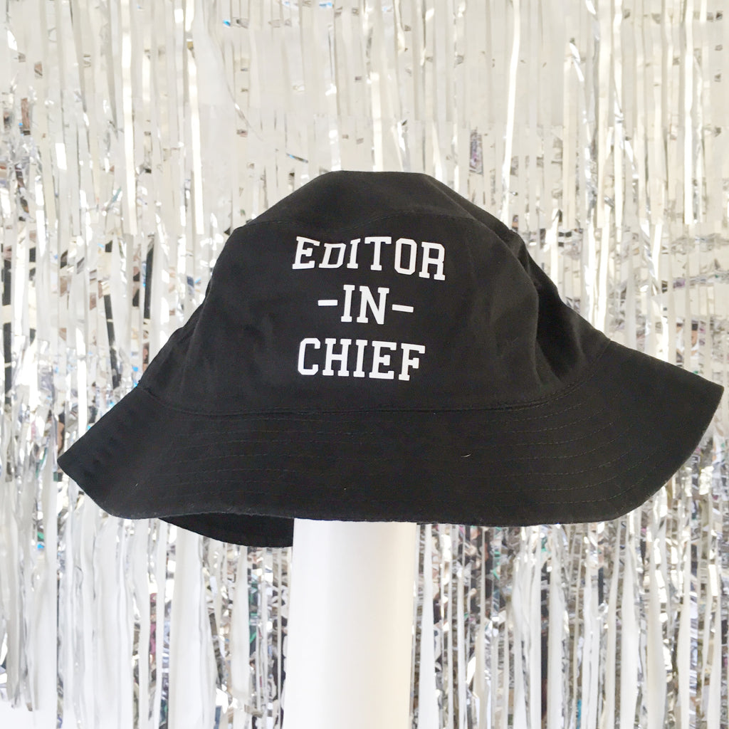 Editor In Chief Bucket Hat