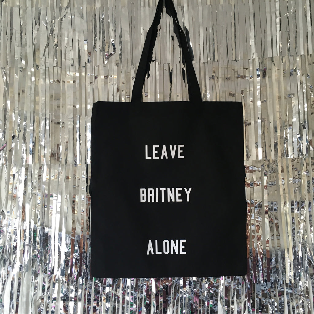 Leave Britney Alone Tote Bag