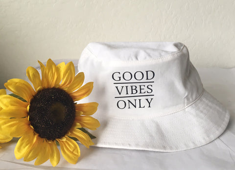 Good Vibes Only Bucket Hat