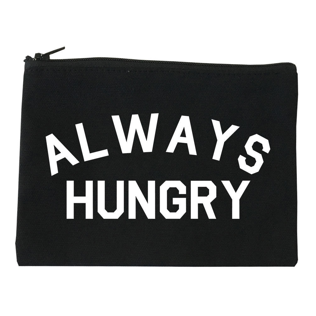 Always Hungry Food black Makeup Bag