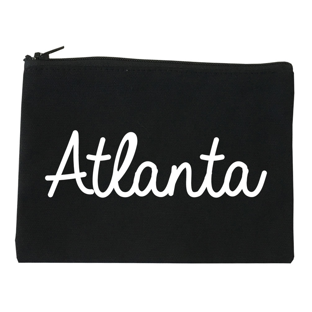Atlanta ATL Script Chest black Makeup Bag