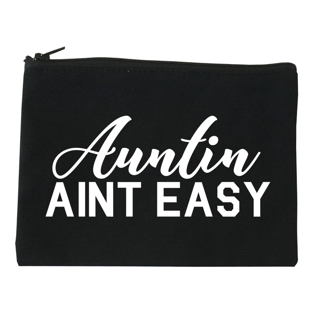 Auntin Aint Easy Aunt Black Makeup Bag
