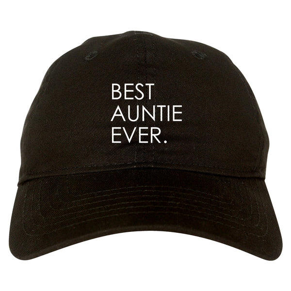Best Auntie Ever black dad hat