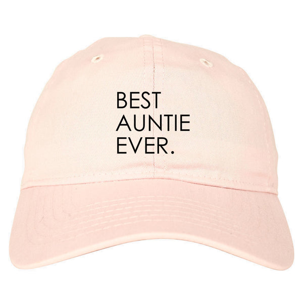 Best Auntie Ever pink dad hat