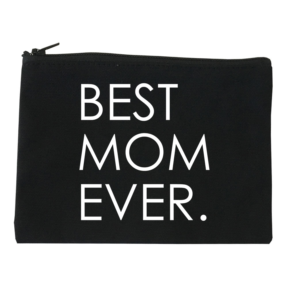 Best Mom Ever Mother Gift black Makeup Bag