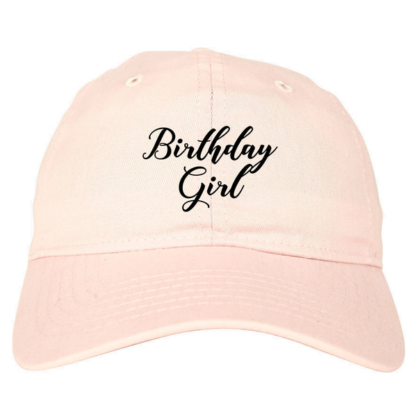 Birthday Girl Party pink dad hat